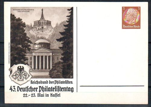 PP-122-C121-01 43. Deutscher Philatelistentag 1937 x