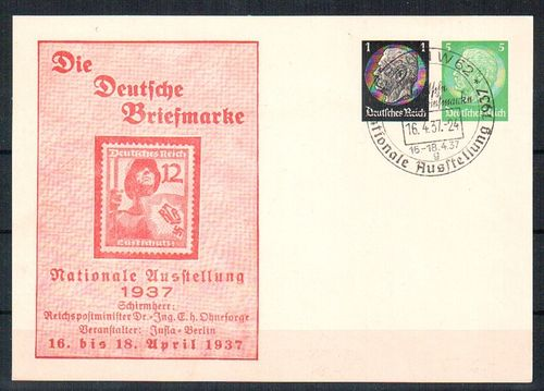 PP-133-C1 Nationale Ausstellung 1937 o