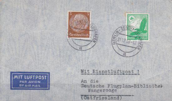 Briefe Mit Luftpost : Info über briefe postkarten belege deutsches reich